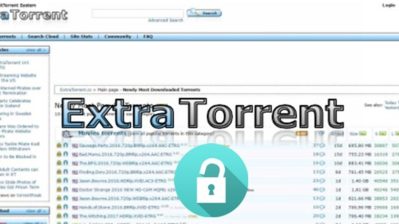 best alternatives to ExtraTorrent and The Pirate Bay